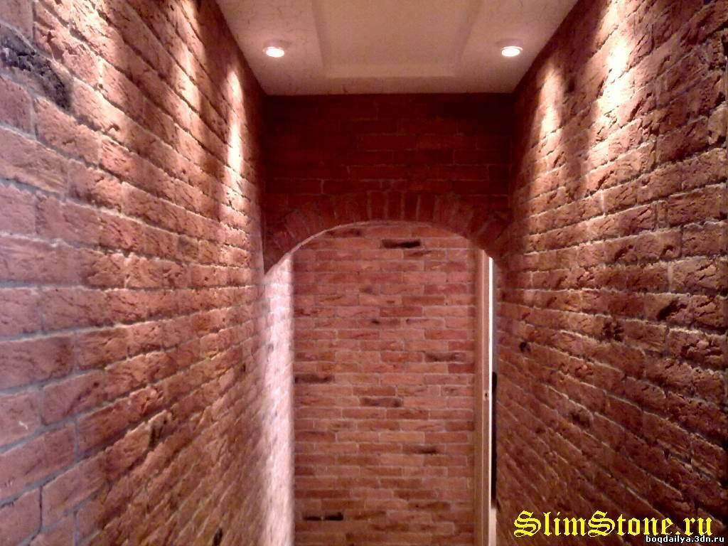 124 Декоративный кирпич в дизайне интерьера квартиры облицовка стены.  Bookmark the permalink. pixels.